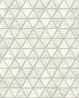 Papier Peint Lutèce Reality 3 Hexatriangle Gris 51182409