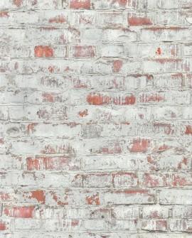Papier Peint Lutèce Reality 3 Brique écaillée 51182005