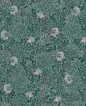 Papier peint Caselio Hygge Raccoon Vert 100547918