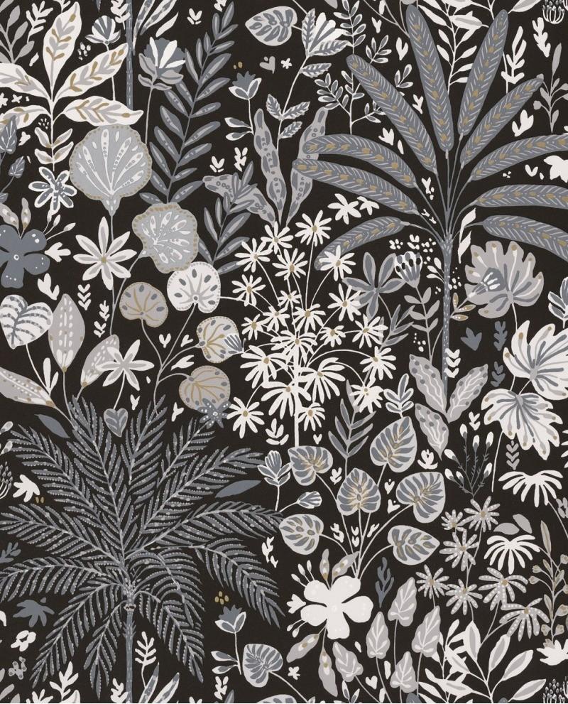 Papier Peint Caselio Hygge Hope Noir Et Blanc 100599911