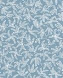 Papier peint Caselio Hygge Cocoon Bleu 100576000