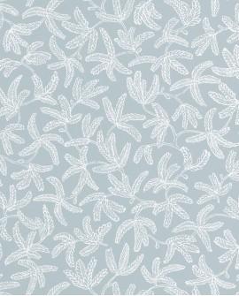 Papier peint Caselio Hygge Cocoon Vert grisé 100577029