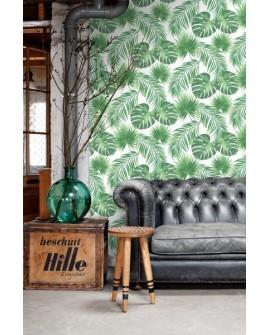 Papier peint Esta Home Jungle Fever Feuilles tropicales 139013