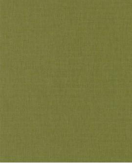 Papier peint Caselio Linen 2 Vert 68527350