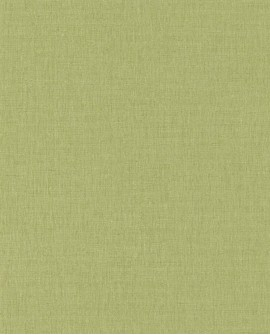Papier peint Caselio Linen 2 Vert 68527203
