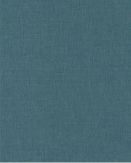 Papier peint Caselio Linen 2 Bleu grisé foncé 68526378