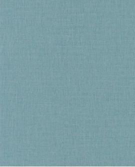 Papier peint Caselio Linen 2 Bleu 68526355