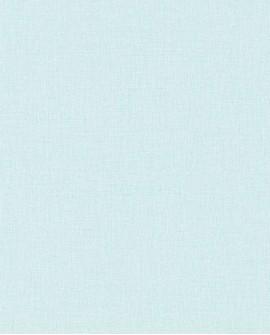 Papier peint Caselio Linen 2 Bleu 68526507