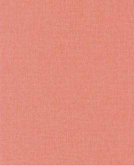 Papier peint Caselio Linen 2 Corail 68523698