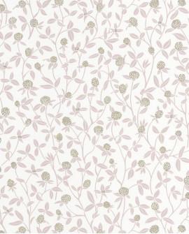 Papier peint Caselio Hygge Serenity Vieux rose doré 100564334