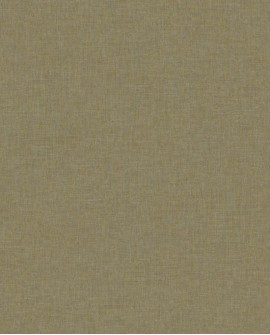 Papier peint Caselio Linen 2 Vert or 68527485