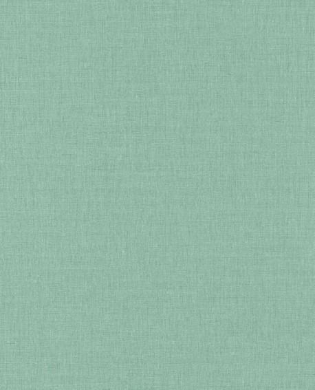 Papier peint Caselio Linen 2 Vert 68527869