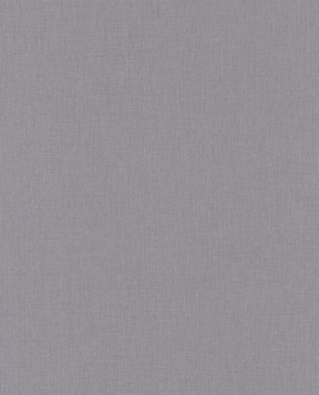 Papier peint Caselio Linen 2 Gris 68529743