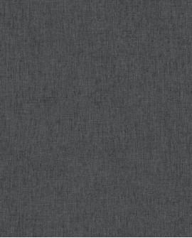 Papier peint Caselio Linen 2 Noir 68529560