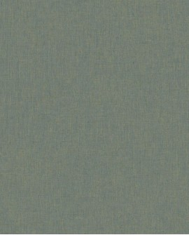 Papier peint Caselio Linen 2 Bleu or 68526320