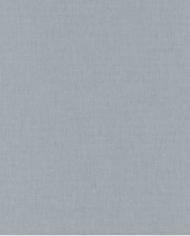 Papier peint Caselio Linen 2 Bleu grisé 68526340