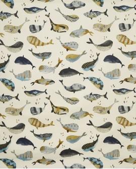 Tissu Prestigious Textiles Baleines Antique 5036/106