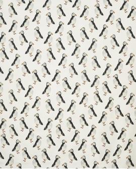 Tissu Prestigious Textiles Puffin Black 5029/900