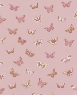 Tissu Caselio GIRL POWER LET'S FLY BLUSH 100914000