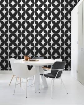 Papier peint Esta Home Scandi Cool Graphique Noir 139101
