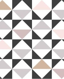 Papier peint Esta Home Scandi Cool Triangles Gris 139094