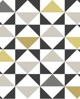 Papier peint Esta Home Scandi Cool Triangles Ocre 139095
