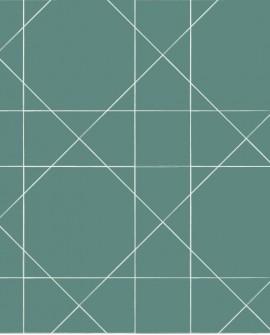 Papier peint Esta Home Scandi Cool Ligne Graphique Vert 139092