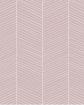 Papier peint Esta Home Scandi Cool Arete de poissons Rose 139107