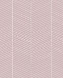 Papier peint Esta Home Scandi Cool Chevrons Rose 139107