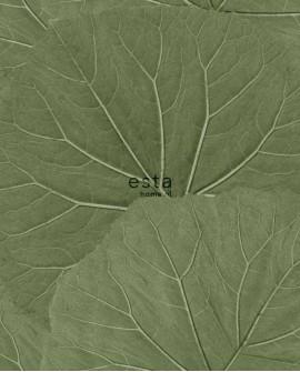 Papier peint Esta Home Jungle Fever Feuilles vert 138995