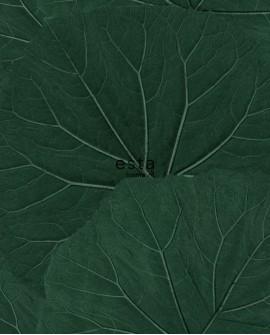 Papier peint Esta Home Jungle Fever Grandes feuilles vert 138997