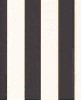 Papier peint à rayures Caselio Moonlight Golden Lines Or/Noir MLG101072092