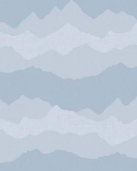 Papier peint enfant Lutèce Babyland Nuages Bleu 5418