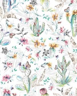 Papier peint anglais Holden Imaginarium Cacti multi 12180