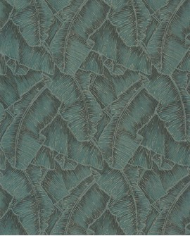 Papier peint tropical Cuba Selva Emeraude CBBA84327507