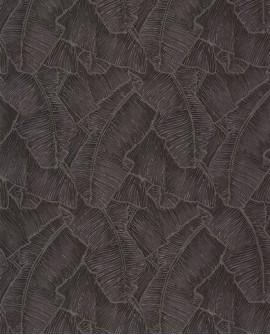 Papier peint tropical Cuba Selva Noir CBBA84329549