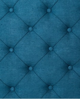 Tête de lit Princesse Thevenon Rive gauche Bleu canard 2036917