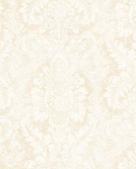 Papier peint Lutece Abby Rose 4 Médaillon Beige AB42427