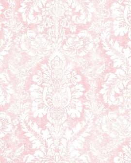 Papier peint Lutece Abby Rose 4 Médaillon Rose AF37711