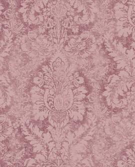 Papier peint Lutece Abby Rose 4 Médaillon Prune AF37712
