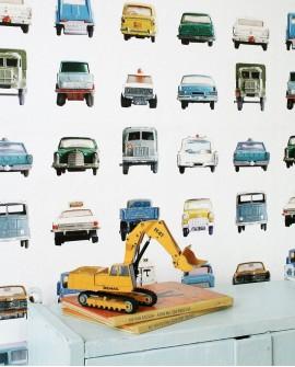 Papier peint pour enfant Studio Ditte Cars