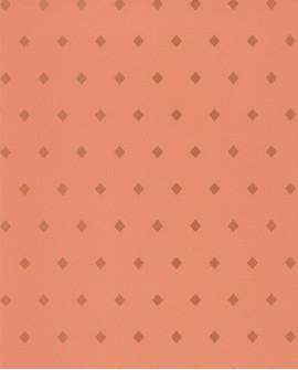 Papier peint floral Casélio Mystery Talisman Corail et doré MYY101624310