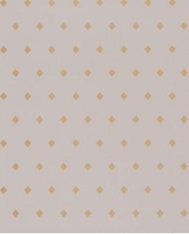 Papier peint floral Casélio Mystery Talisman Gris et doré MYY101629121