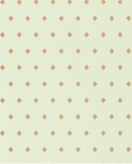 Papier peint floral Casélio Mystery Talisman Vert et doré MYY101627112