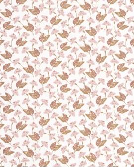 Papier peint floral Casélio Mystery Poem Rose, cuivre et doré MYY101634122