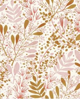 Papier peint botanique Green Life Joy Rose GNL101694002
