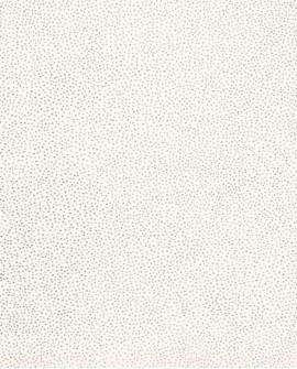 Papier peint à pois Green Life Sparkle Blanc argent GNL101730099