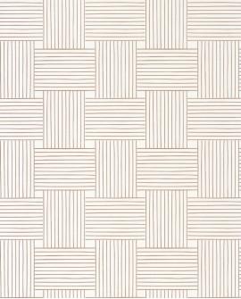Papier peint vintage Casélio Mystery Longevity Blanc dore MYY101640000