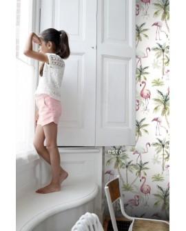 Panoramique Esta Home Phowalls XL² Flamants Rose 158844