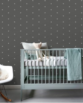 Papier peint Let's Play! Esta Home Graphique Noir grisé 139070